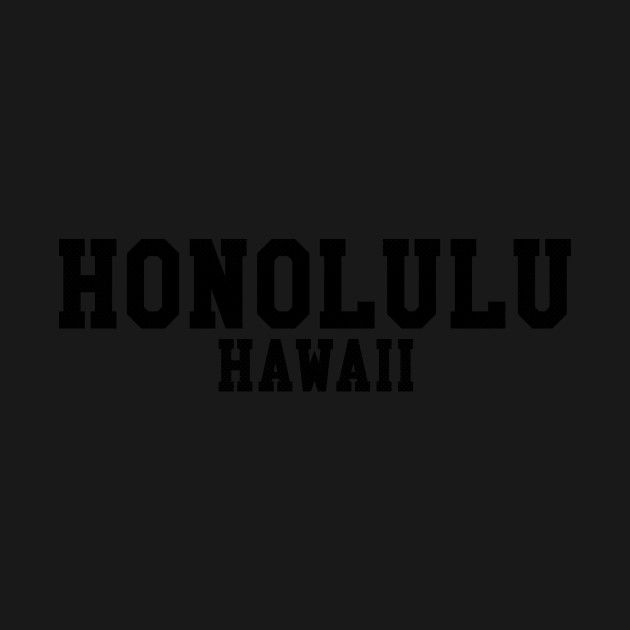Honolulu, Hawaii - HI Sports Text