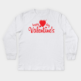 Cute Valentines Day Gifts Kids Long Sleeve T Shirts Teepublic