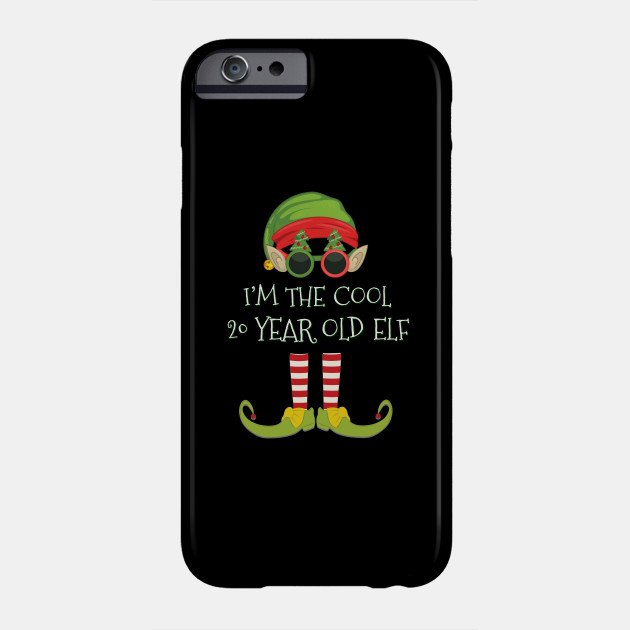 Im The Cool 20 Year Old Elf 20 Year Old 20th Birthday Gift Idea For Birthday Christmas