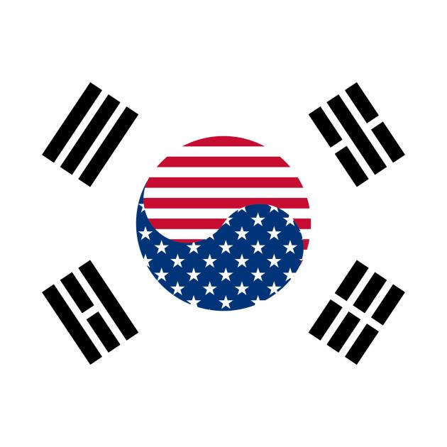 Korean American Flag