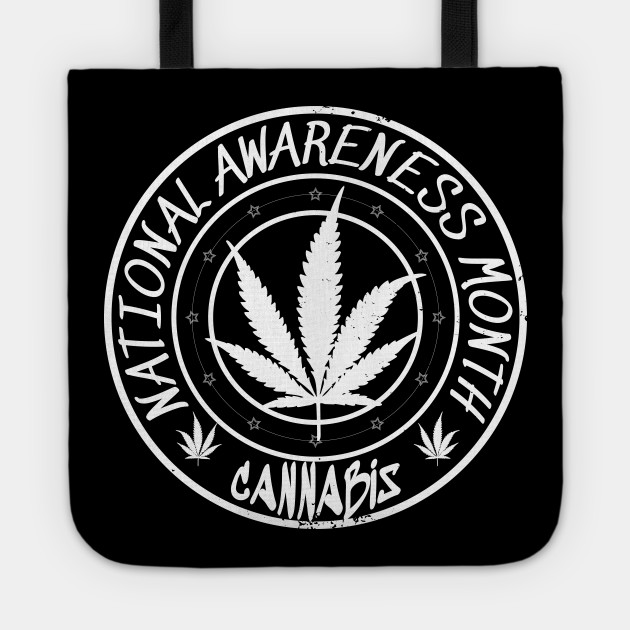 Cannabis National Awareness Month Vintage Style Design