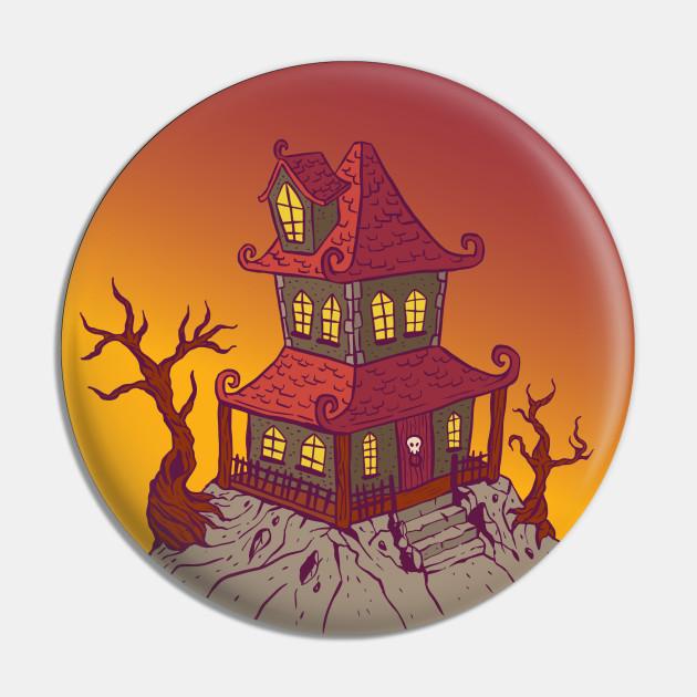 Halloween Cartoon House