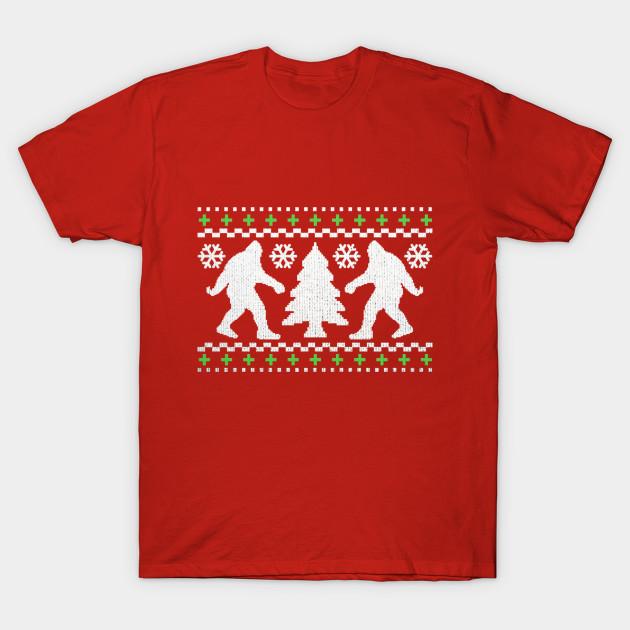 Weezer Christmas Sweater.Funny Bigfoot Ugly Christmas Holiday Sweater