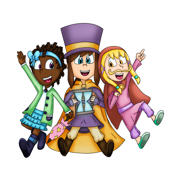 A Hat in Time Kids