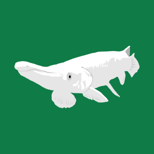 Albino Alligator Gar t-shirts