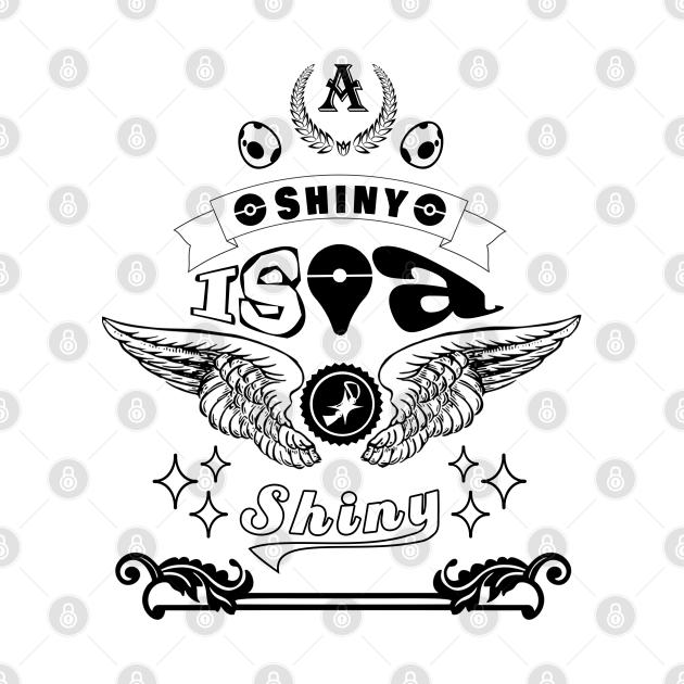 A Shiny Is A Shiny Blk/Wht