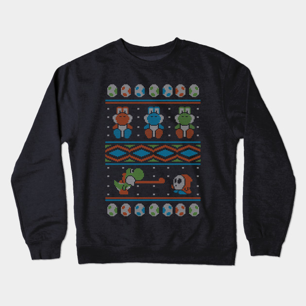 4703ced6f236 Wool is Cool. Special Christmas Ugly Sweater - Mario - Crewneck ...