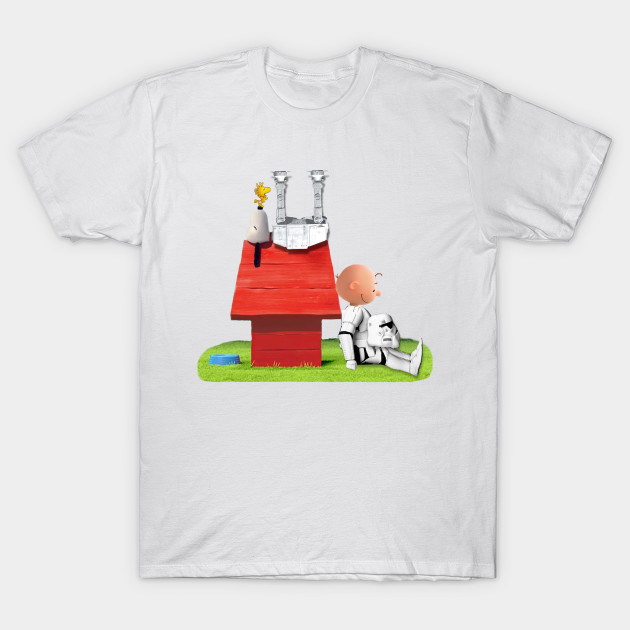 a07b26bab7 snoopy star wars - Funny - T-Shirt | TeePublic