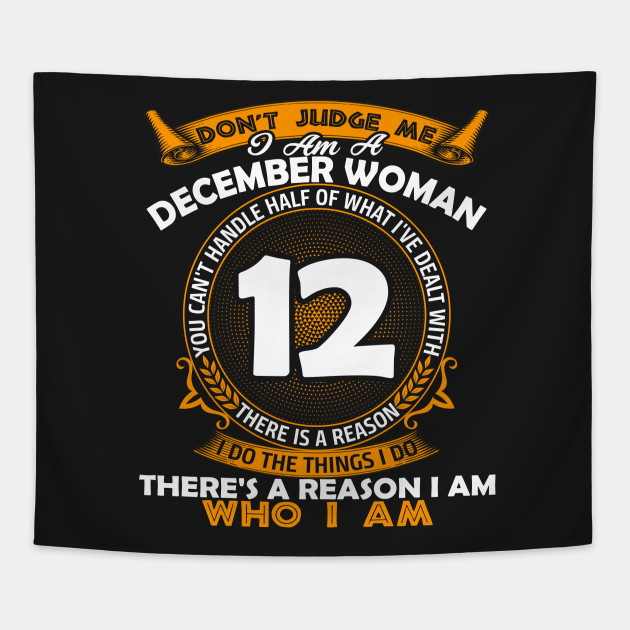9a68c94d866 I am A December Woman T-shirt Awesome Birthday Gift - I Am A ...