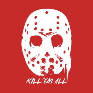 Friday the 13th : Kill'em All t-shirts
