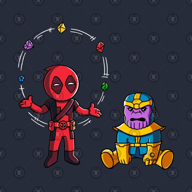 Deadpool and thanos fun