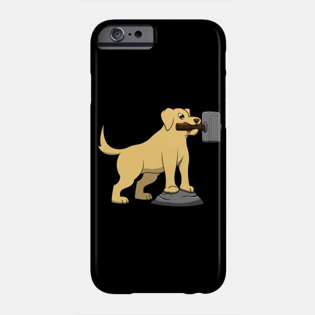 Labrathor Dog Pun Thor Labrador Funny Meme Drawing