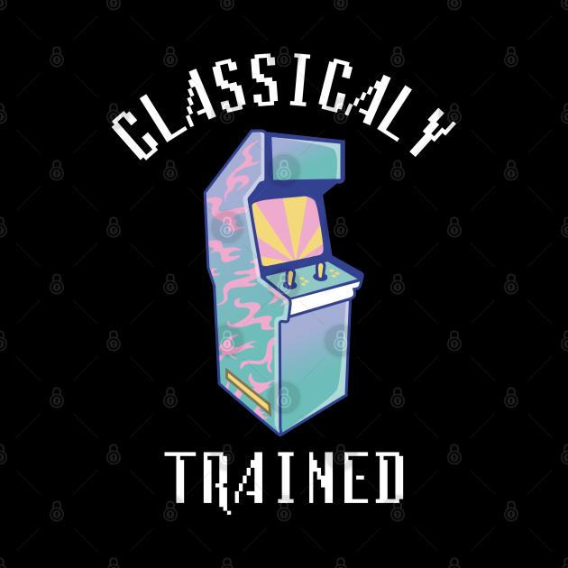 Classically Trained Funny Arcade Retro Game Design