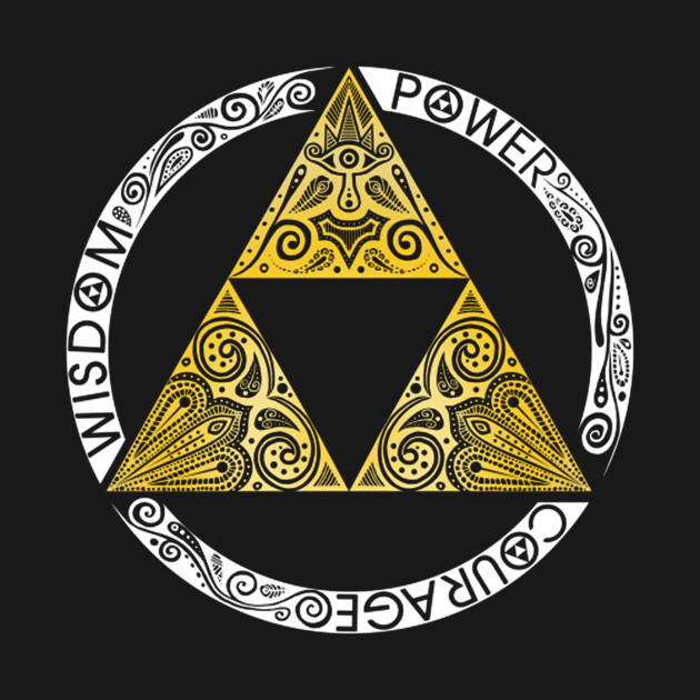The Legend Of Zelda Triforce Zelda T Shirt Teepublic