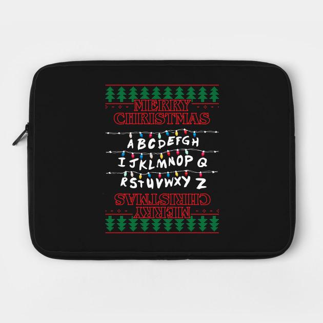 Stranger Things Merry Christmas Lights Knit