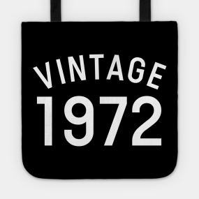 46th Birthday Gift Bag Tote Mam Shopping Limited Edition 1973 All Original Parts