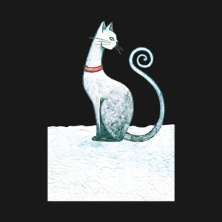 Winter Cat t-shirts
