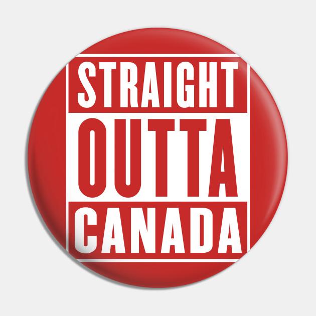 Straight Outta Canada - Parody Design