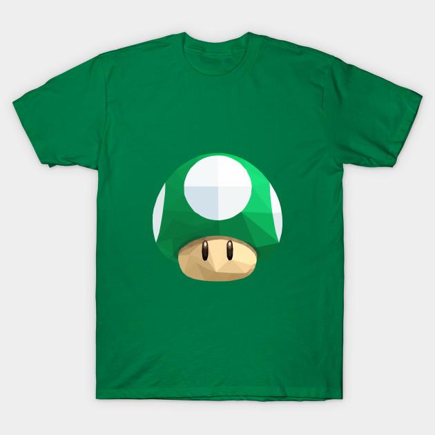 37126f8c 1UP Mushroom - 1up Mushroom - T-Shirt   TeePublic