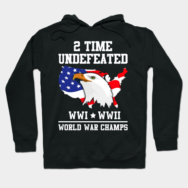 2 time undefeated world war champs 4th of july