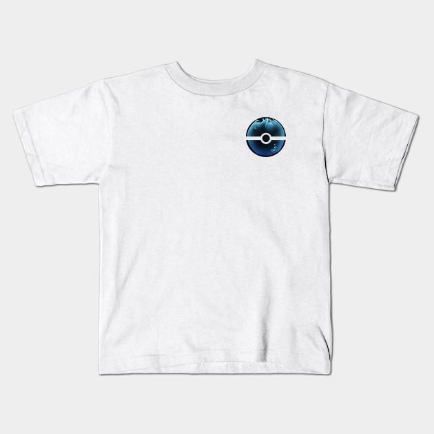 a8c4e5b8 Water-filled Pokeball - Pokemon - Kids T-Shirt | TeePublic