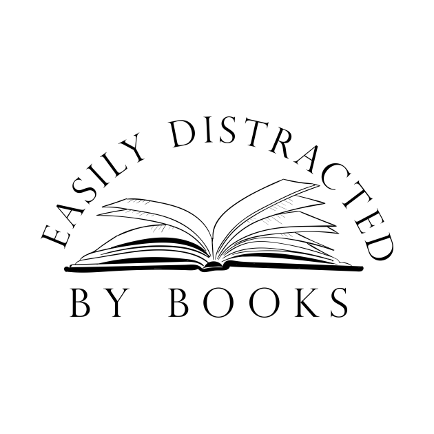 easily distracted by books