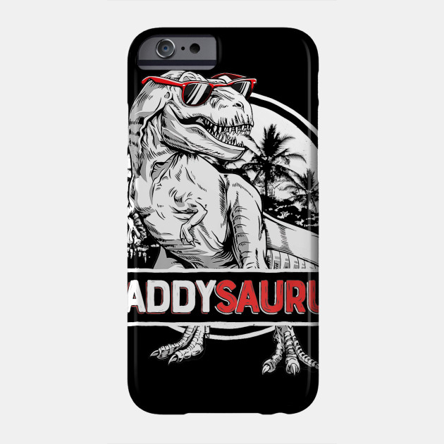 Daddysaurus T shirt Fathers Day Gifts Phone Case