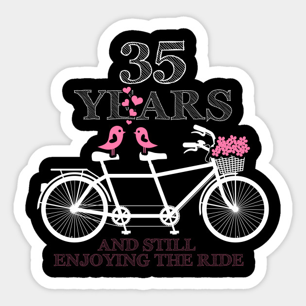 35th Wedding Anniversary Gift Idea 35 Years Together
