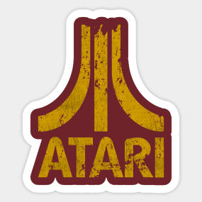 Main Tag Atari Sticker