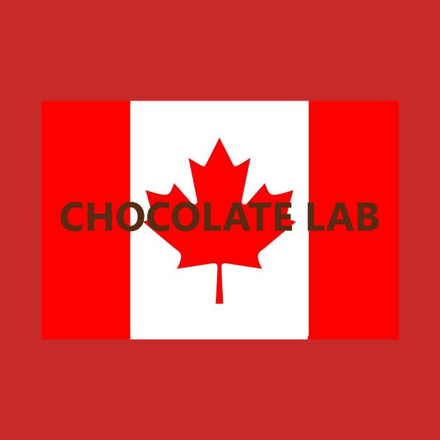 chocolate lab name on flag