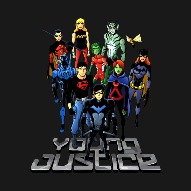 young justice tshirt