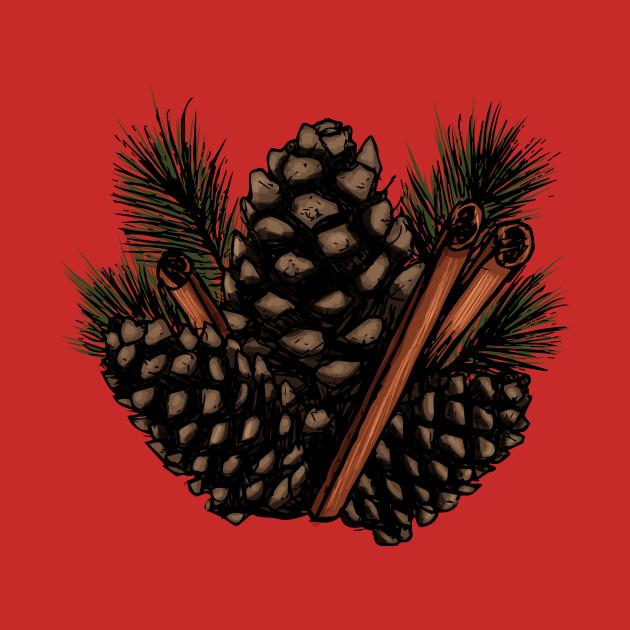 Pinecones and Cinnamon Sticks