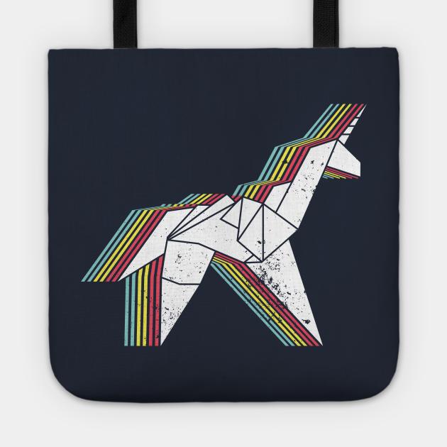 Origami Unicorn (Aged look)