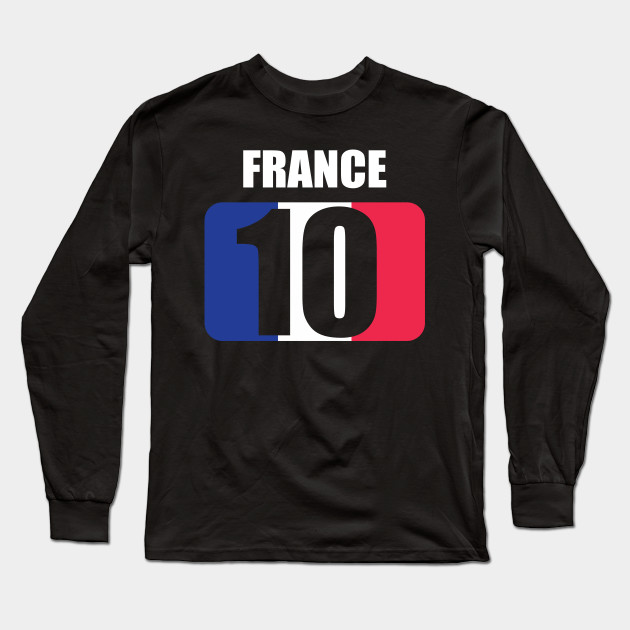 separation shoes 17bff 0e326 France national team jersey number 10