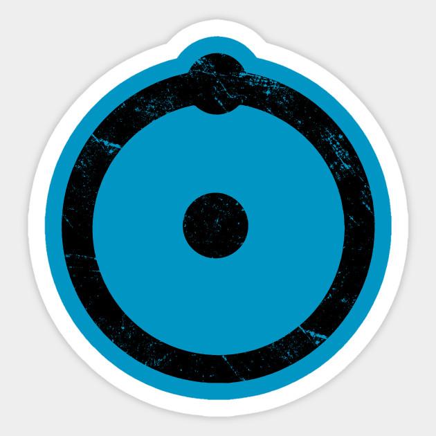Doctor Manhattan Symbol Watchmen Watchmen Sticker Teepublic