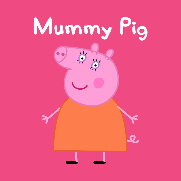 The Model Shop-TY - PEPPA PIG MUMMY PIG 33CM