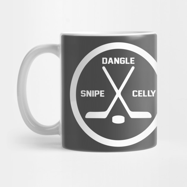 Dangle Snipe Celly Hockey