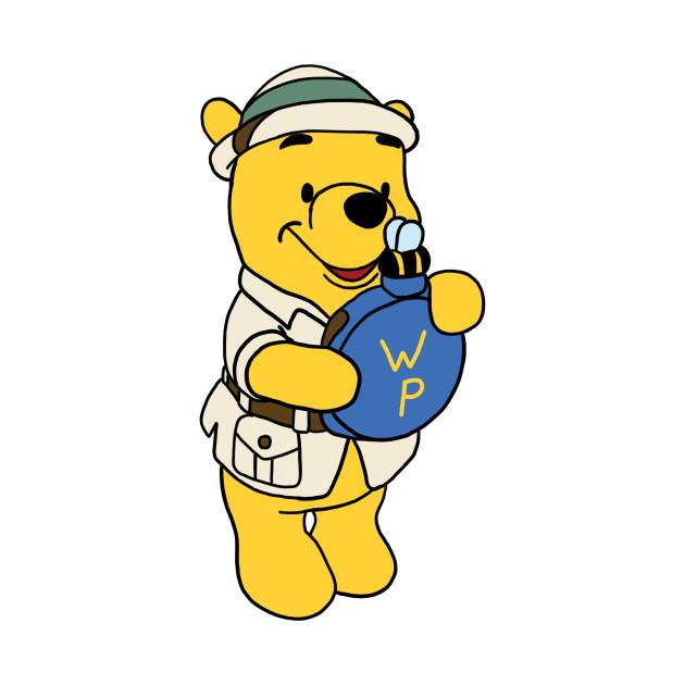 3b1efee10a4d Safari Pooh Bear - Winnie The Pooh - Onesie