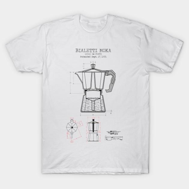 d9e6c21f COFFEE POSTER - Coffee Bialetti Moka Patent Print Bialetti Moka ...
