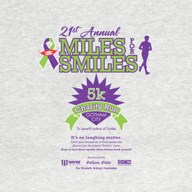 Miles for Smiles 5k Charity Run - Gotham City