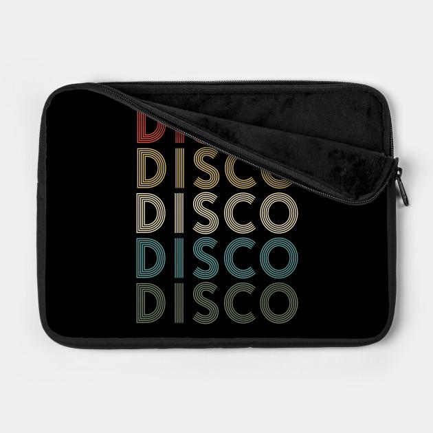 Vintage Disco 80'Retro Themed Design