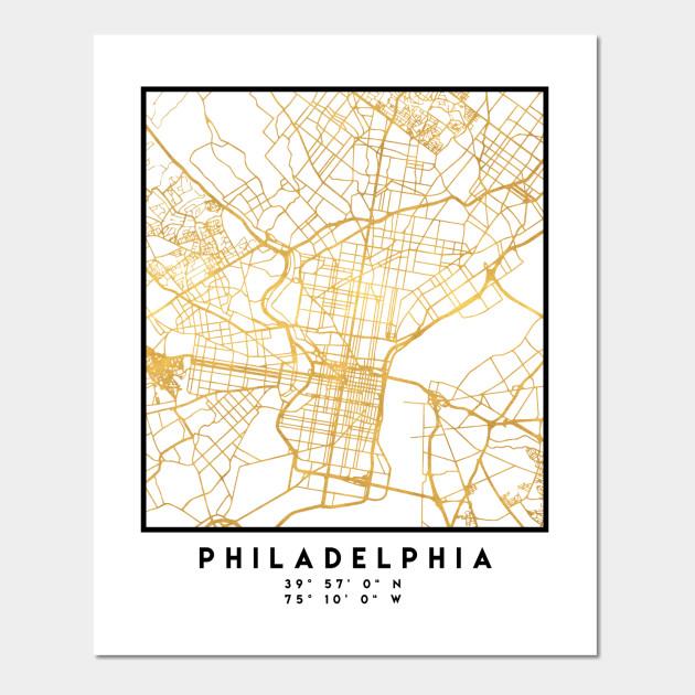 Philadelphia pennsylvania city street map art philadelphia wall 1842876 1 freerunsca Gallery