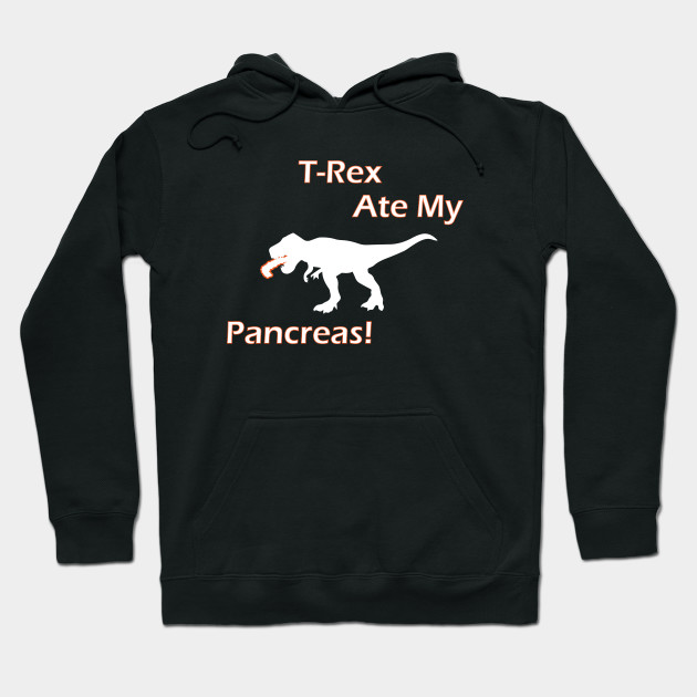 T-Rex Ate My Pancreas - Funny Diabetes T-Shirt