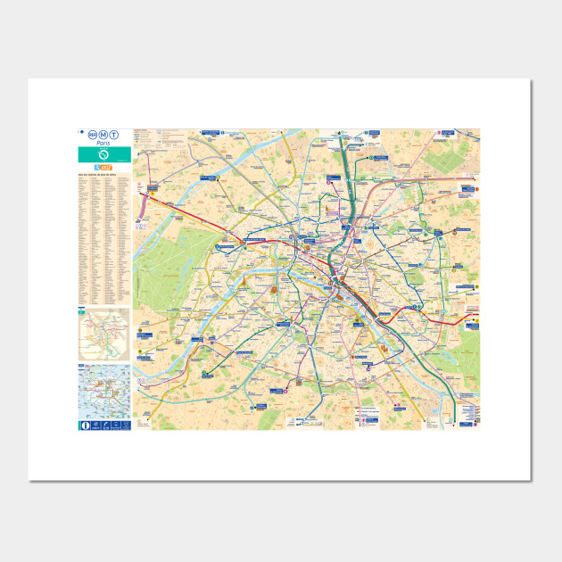 France Subway Map.Paris Subway Map With Streets France Paris Subway Map France