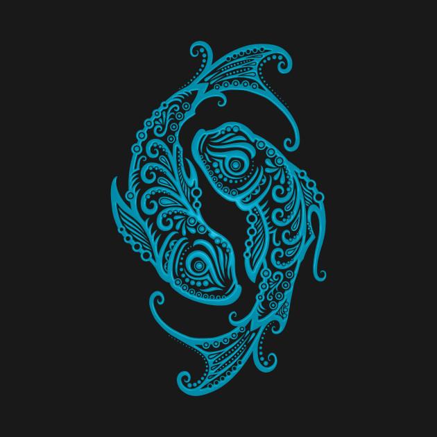 Blue Pisces Zodiac Sign Pisces T Shirt Teepublic