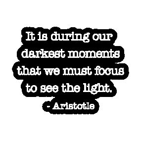 Light And Darkness Quotes Stickers Teepublic