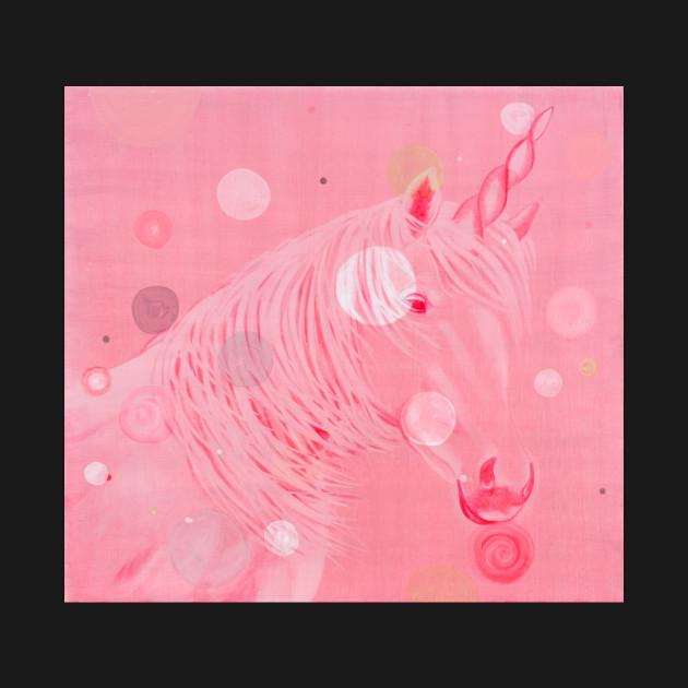 Pink Unicorn by Stephanie Rivers