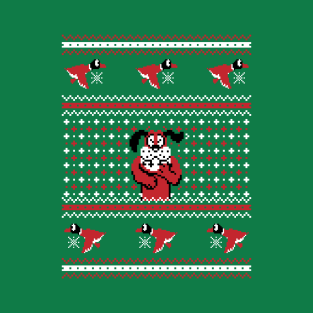 Festive Duck Hunt - Ugly Sweater, Christmas Sweater & Holiday Sweater t-shirts