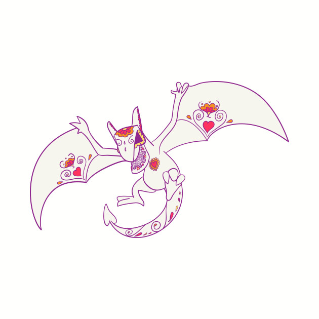 Aerodactyl PopMuerto | Pokemon & Day of The Dead Mashup