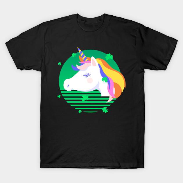 c189cedde Unicorn St Patrick's Day - Unicorn - T-Shirt | TeePublic
